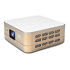 TecTecTec! [Nouveau] Mini Projecteur WiFi VPRO1 Android Pico Videoprojecteur Haute Résolution avec WiFi, Bluetooth, USB et HDMi Home Cinéma de Poche - Publicité