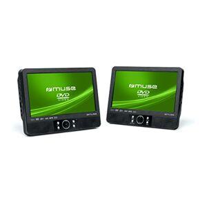 Muse M-990 CVB Lecteur DVD double écran 22.9cm pour voiture - Publicité