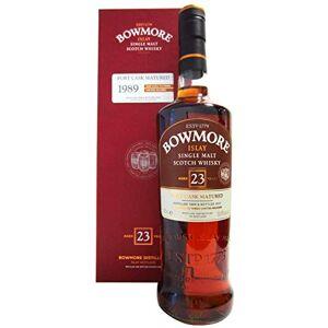 Bowmore Islay Single Malt Whisky en Coffret Cadeau 23 Ans Port Cask Matured 1989 700 ml - Publicité