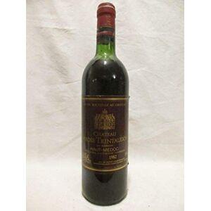 vin haut-médoc chteau larose trintaudon cru bourgeois rouge 1982 bordeaux france - Publicité