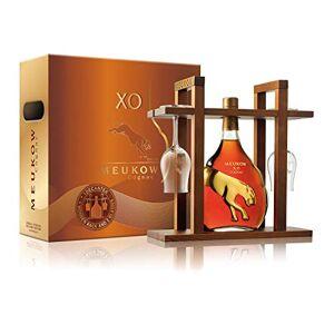 Meukow Cognac XO/Rack Verres 40% 70cl - Publicité