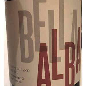 Alba Bella  Bianco, Trebbiano Pinot Grigio, Italie, (caisse de 6x75cl) Vin Blanc - Publicité