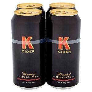 Apple K Premium Apple Cider (24 x 500ml Cans) - Publicité