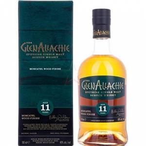 Hard To Find Whisky GlenAllachie Moscatel Wood Finish Single Malt 11 year old Whisky - Publicité