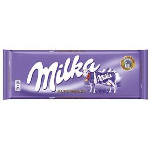 Alpine Milka Alpine lait 300g - Publicité