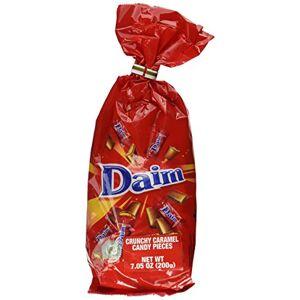 Daim Minis, beurre d'amande et de caramel de chocolat au lait 200gr - Publicité