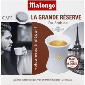 Malongo Dose expresso grande reserve La boite de 16 doses, 104g - Publicité