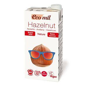 Ecomil Boisson  la noisette sans sucres et sans gluten 1L Bio - - Publicité