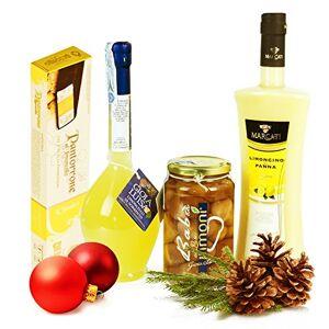 Panier cadeau italienne: Limoncello Sorrento Cream Bab Torrone - Publicité