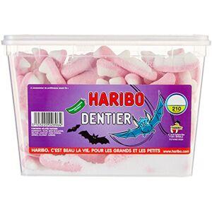 HARIBO Bonbon Gélifié Dentier Tutti Frutti x 210 Pices 1,27 kg - Publicité