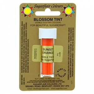 Sugarflair Fleur Tint Comestible Poudrage Couleur Soleil Orange - Publicité