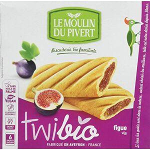 Moulin Pivert Twibio Fourré  la Figue 150 g - Publicité