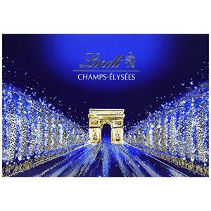 Lindt bote de chocolats Champs Elysées Bote 428 g - Publicité