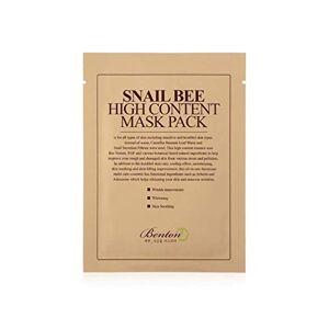 Benton Masque Sérum Snail Bee High Content Mask Pack 20g - Publicité