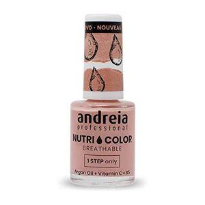 Andreia Professional NutriColor Vernis  Ongles Vegan Respirant NC7 Rose 10.5ml - Publicité