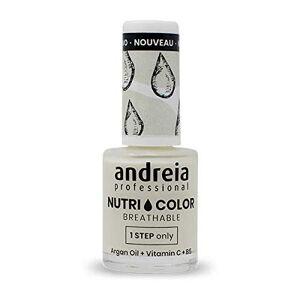 Andreia Professional NutriColor Vernis  Ongles Vegan Respirant NC2 Crme 10.5ml - Publicité