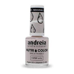 Andreia Professional NutriColor Vernis  Ongles Vegan Respirant NC4 Violet 10.5ml - Publicité