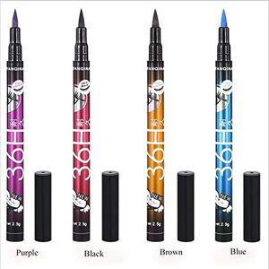 Justdodo Eyeliner Crayon Liquide Imperméable De Longue Durée Cosmétiques Eye Liner Pen Noir Lisser Outils De Maquillage Or