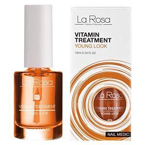 La Rosa Nail Medic Soin Nourrissant/Stimulant la Croissance des Ongles  Base des Vitamines 10 ml - Publicité