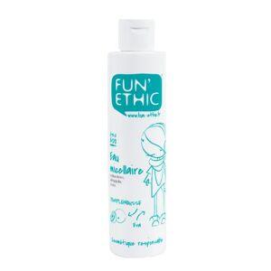 Fun'Ethic EM15 Eau Micellaire Etre Ado Antibactérien / Démaquille / Tonifie Label Cosmebio 200 ml - Publicité