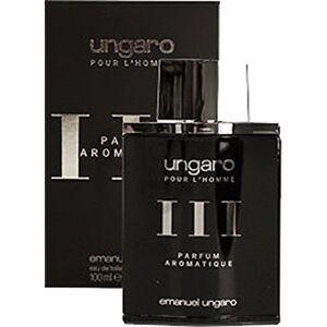 emanuel ungaro Ungaro Homme III Eau de Toilette Platinum100ml - Publicité