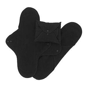 ImseVimse Lot de serviettes hygieniques lavables, noir pour nuit (32,5 cm) - Publicité