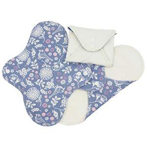 Imse Vimse ImseVimse Lot de serviettes hygiéniques Panty Regular Night Design: Jardin de fleurs - Publicité