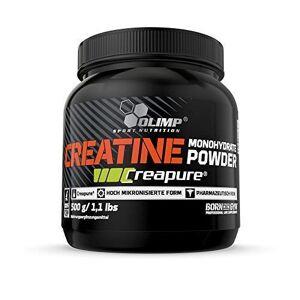Olimp Sport Nutrition Créatine Creapure Monohydrate 500 g (L'étiquette peut varier) - Publicité