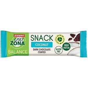 ENERVIT SpA EnerZona Snack Barretta Proteica Cioccolato Fondente E Cocco, 33g - Publicité