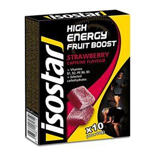 Isostar Fraise énergisante aux fruits , paquet de 5 (5 x 100 g) - Publicité