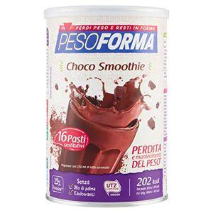 NUTRITION & SANTE' ITALIA SpA PESOFORMA CHOCO SMOOTHIE 436 G - Publicité