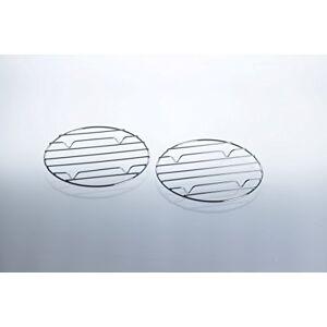 Unbekannt Lot de 2 grilles pour réchaud  gaz de camping avec plaque de cuisson Accessoires pour mini barbecue  gaz / cartouches Grill - Publicité