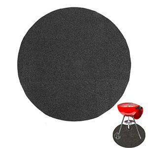 ANGGREK Barbecue Tapis de Protection de Sol pour Une Utilisation à la Maison Forme Ronde Gary Barbecue Tapis résistant à l'huile 36 Pouces - Publicité