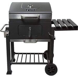ACTIVA Barbecue  charbon de bois  roulettes en acier inoxydable Charbon de bois Acier inoxydable Grand barbecue Charbon Barbecue Petit Barbecue Barbecue - Publicité