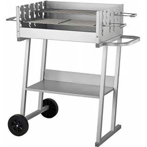 ACTIVA Chariot barbecue  charbon en acier inoxydable - Publicité