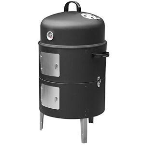 Barbecook Smoker FUMOIR, 115 liters L, Noir, 45x25x45 cm - Publicité