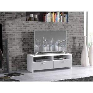 finlandek Meuble TV HELPPO 95cm blanc et gris - Publicité