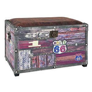 Haku Mbel 30994 Coffre de Rangement Vintage 40 x 65 x 42 cm - Publicité