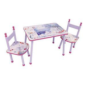 Fun House 713187 Disney Reine des NEIGES Ensemble Table avec 2 chaises pour Enfant, 2 Ans - Publicité