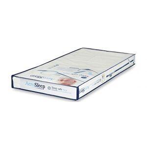 AEROSLEEP EVOLUTION Pack Matelas et protge-matelas Matelas mousse  froid de qualité supérieure pour un soutien dorsal optimal 120 x 60cm Blanc - Publicité