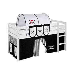 Lilokids Tunnel Pirat Noir-Blanc-Rayures pour Lit Mezzanine et Lit superposé - Publicité