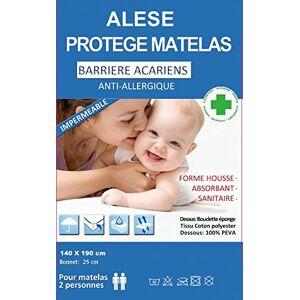 BNG Alése protge-Matelas Imperméable Anti-Acariens Anti-Allergique (140 X 190) - Publicité