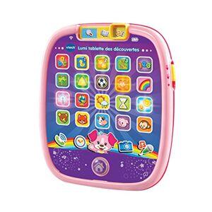 VTech - Lumi Tablette Des Découvertes, 602955, Rose Version FR - Publicité