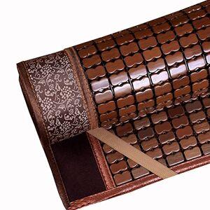 CAIJUN-liangxi CAIJUN Tapis De Sommeil D'été Usage Unique Table De Mahjong Cool Et Lisse Pas De Bavure Un Dortoir tudiant Enveloppé Pliable, 0.8x1.9m Pad Plantes - Publicité