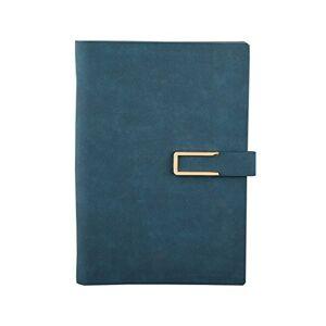 WSLCN Cahier  Spirale A5 Carnet de Notes Amovibles Professionnel Organiseur PU Porte-document - Publicité