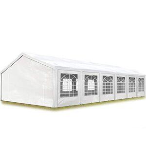 TOOLPORT Tente de réception 6x12 m pavillon Blanc bche PE épaisse de 180 g/m imperméable Tente de Jardin - Publicité