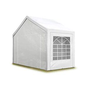 TOOLPORT Tente de réception 3x2 m pavillon Blanc bâche PE épaisse de env. 180 g/m² imperméable Tente de Jardin… - Publicité