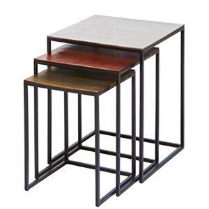 Kare Design Table d'appoint carrée Marron - Publicité