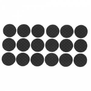 SODIAL(R) 18 Pcs Auto-adhesif Mousse noire Table Chaise Jambe tampon Protecteur - Publicité