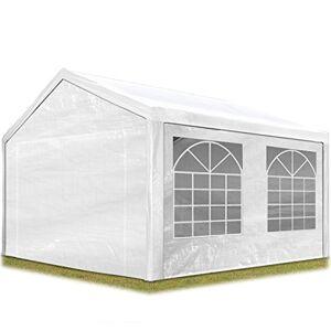 TOOLPORT Tente de réception 3x4 m pavillon Blanc bche PE épaisse de 180 g/m imperméable Tente de Jardin - Publicité